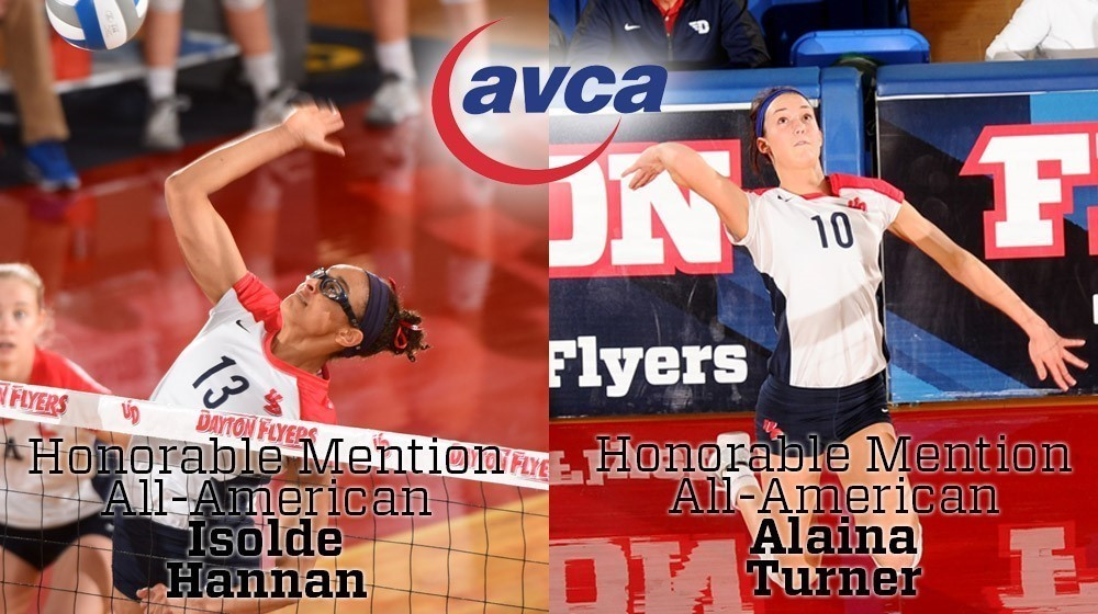 Hannan-Turner AVCA Honorable Mention