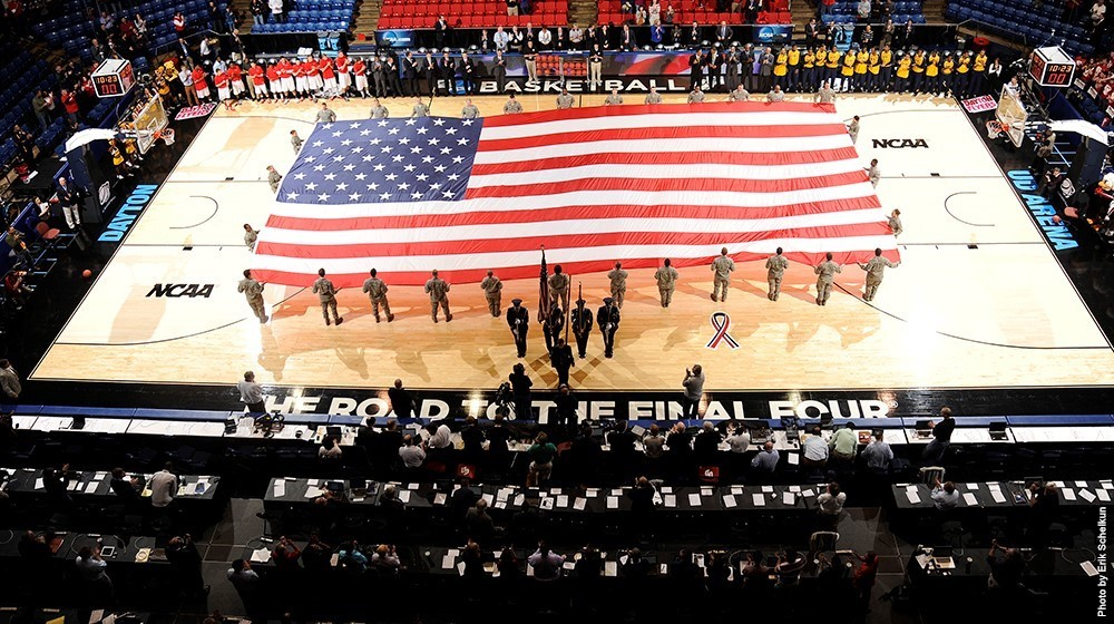 2014 NCAA First Four National Anthem