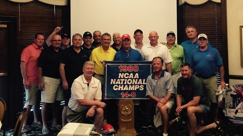 1980 tEAM AT 2015 gOLF oUTING